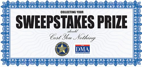 sweepstakes certificate