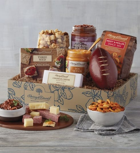 Harry & David Hometeam Snacks Gift Basket