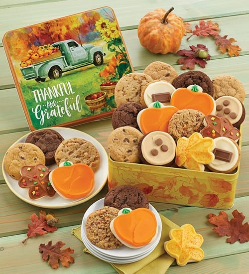 Buttercream Frosted Cookies Grateful Harvest Gift Basket