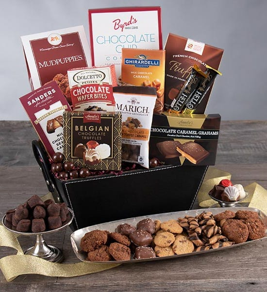 Ghirardelli Thankful Classic Chocolate Gift Basket