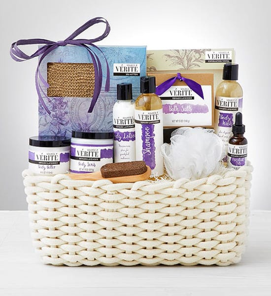 Lavender Spa New Year 2021 Gift Basket