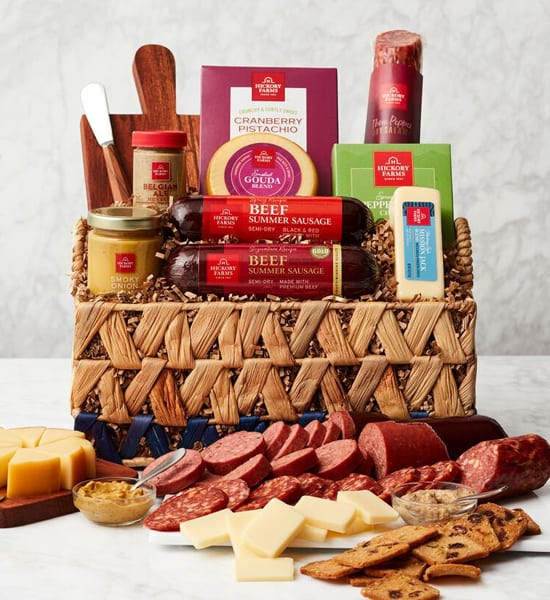 Hickory Farms Game Time Charcuterie Gift Basket