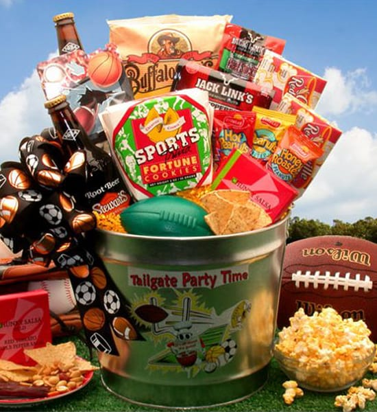Slim Jims Tailgate Party Time Gift Basket