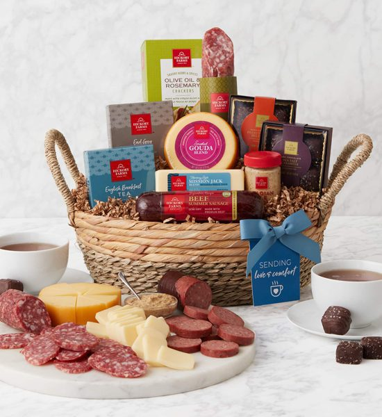 Hickory Farms Summer Love Gift Basket